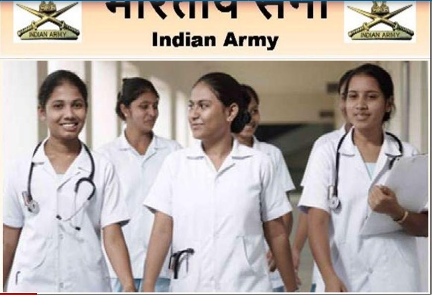 Indian Army B.Sc Nursing Application Form 2021